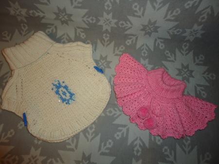 вязаные манишки схемы - Выкройки одежды для детей и взрослых.