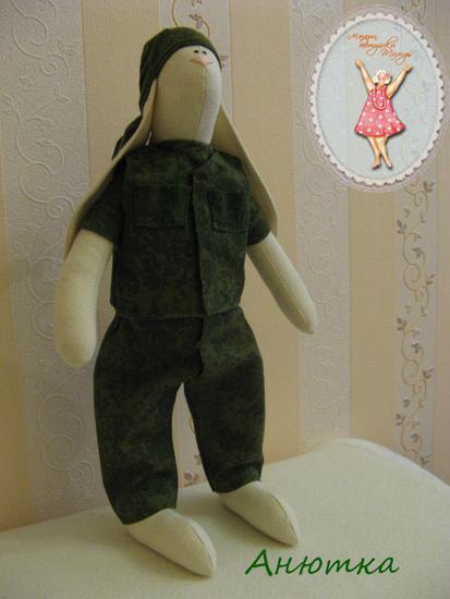 сшить куклу солдата своими руками