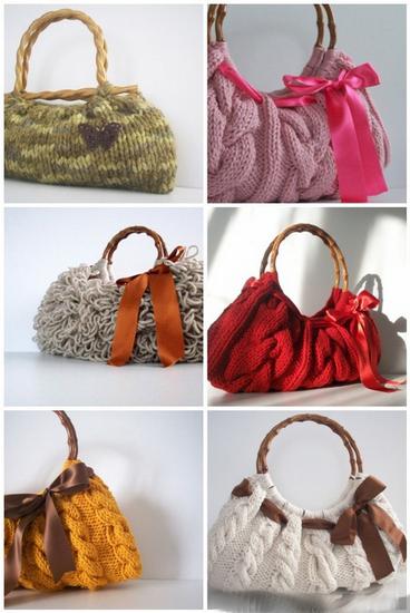 Вязаные вещи 2010/2011.  Фото-обзор hand-made модных вязаных вещей.