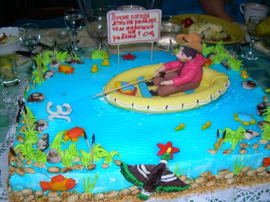 Торт на 30 лет мужу - 665