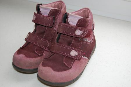 1000р. Ботинки осенние PEPINO BY RICOSTA, непромокаемые, размер 22 (больше