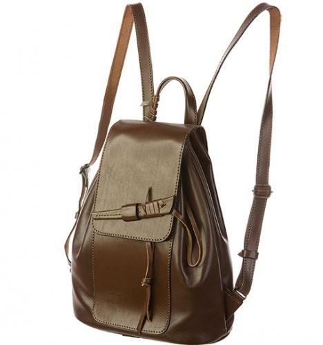 Рюкзак кожаный с кинжалом Гейша.