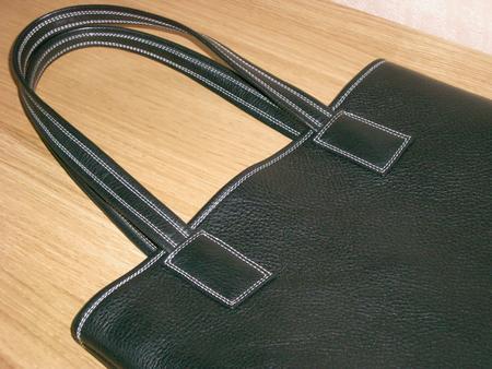 Замена кожаных ручек на сумке москва