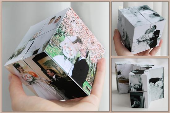 Подарки из фото на свадьбу своими руками