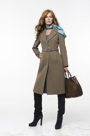 Серое пальто: с чем носить?  Искусство.