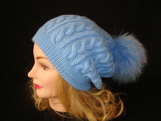 Вязание на спицах шапок для подростка девочки