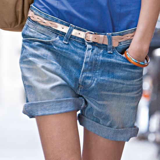 Как сшить из старых джинс шорты с подворотом 60
