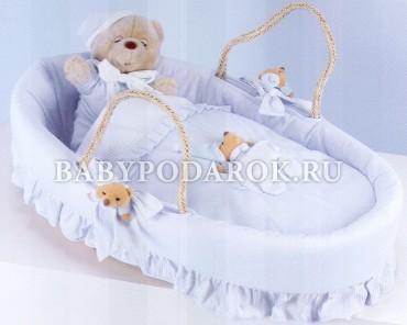 Колыбели-переноски для новорожденных (плетеные) - Россия.