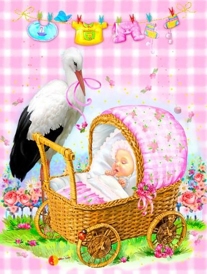 Красивые поздравления с новорожденной внучкой5