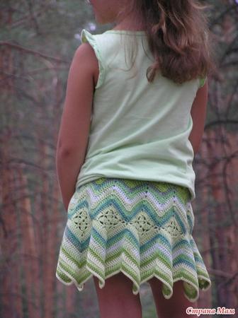 Часть 14. схемы для юбочек. пляжная юбка...